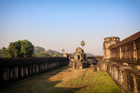 Impressions of the largest temple complex in the world Standard-Bild