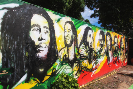 Feel the reggae vibes in jamaica ! The Land of Bob Marley