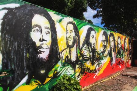 Spüren Sie die Reggae-Vibes auf Jamaika! Das Land von Bob Marley Editorial
