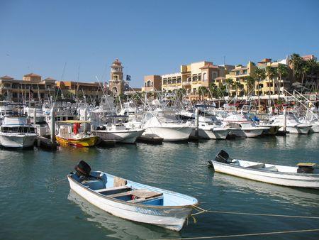 lucas: Cabo San Lucas Harbor Stock Photo