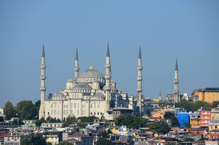터키 이스탄불의 블루 모스크 스톡 콘텐츠