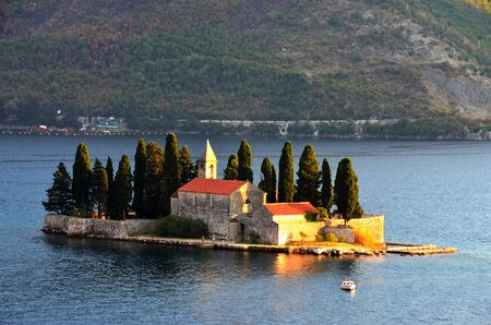 Our Lady of the Rocks Church Montenegro