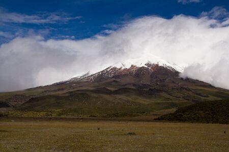 The mighty Cotopaxi in Ecuador, easy 5890 metres