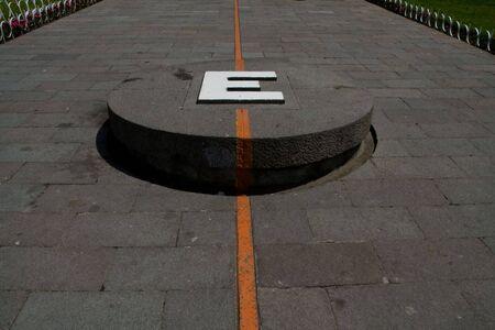 the equator monument in quito, ecuador