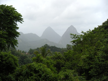 st lucia: Pitons, St. Lucia