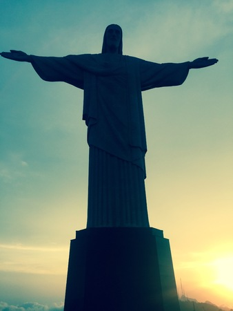 cristo: Cristo Redentor Overlooking Rio Sunset