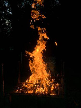 Pretty campfire