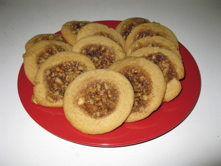 nutty: Nutty cookies for christmas
