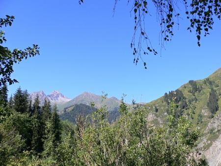 kazakhstan: Esik mountains range in Kazakhstan