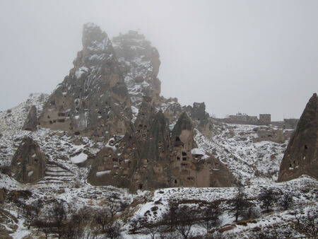 U�hisar Castle   Landlord s Castle in Cappadocia photo