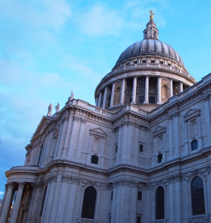 st  paul   s cathedral: St  Paul s Cathedral, City of London Stock Photo