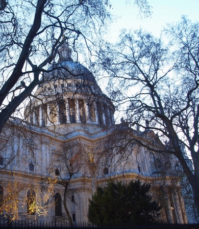 St  Paul s Cathedral, City of London Stock Photo