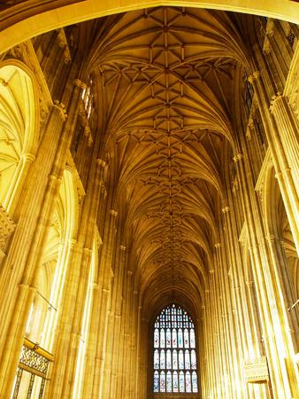 canterbury: Int�rieur de la cath�drale de Canterbury en Angleterre