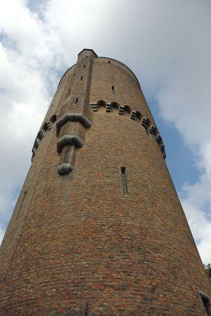 Tower in Brugge Zdjęcie Seryjne