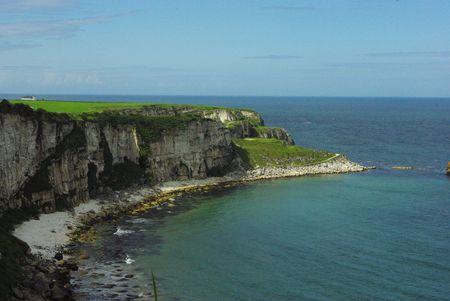 Klippen in Noord-Ierland