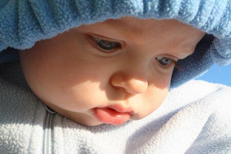 Blue Baby Reklamní fotografie - 16842257
