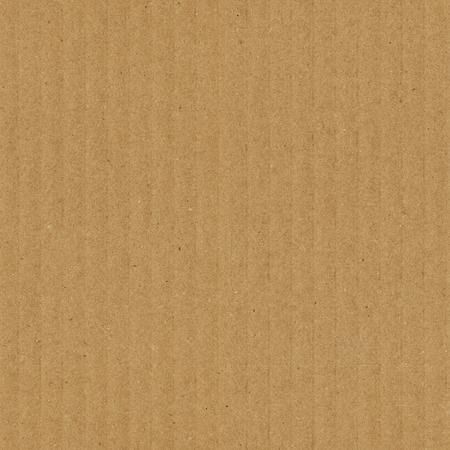 Kartonnen textuur naadloze patroon. Bruine golfkarton met verticale stroken
