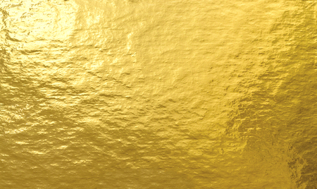 Gold foil texture background Stock Photo