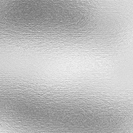 Textura de la hoja de plata, fondo metálico gris para la obra de arte