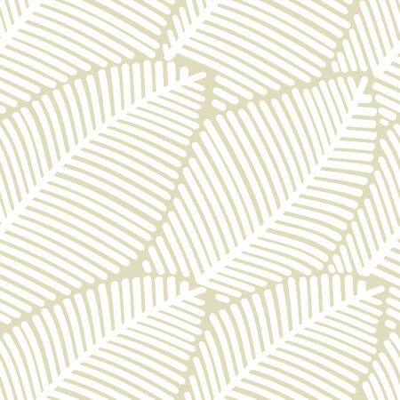 Seamless pattern of stilized leaves.