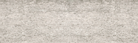 White wash old brick wall panorama. Stockfoto