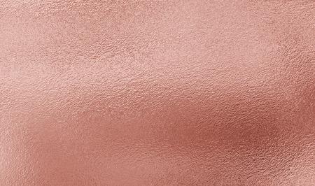 Fondo de la textura de la hoja de oro rosada Foto de archivo