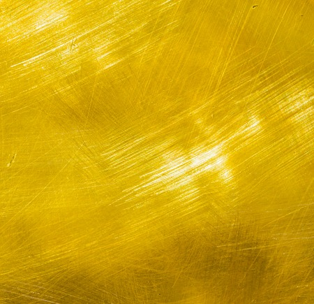 brushed: Shiny brushed gold metal texture for luxury background