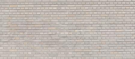 Beige brick wall panorama. 写真素材