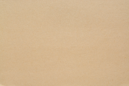 Kraft Paper Texture with horizontal stripes for background in high resolution