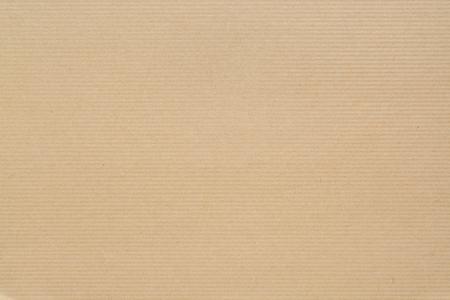 textura de papel kraft con rayas horizontales para el fondo en alta resolución