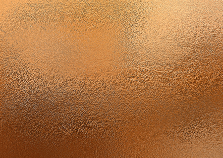 Bronze background. Metal foil decorative texture Stock Photo
