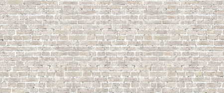 Beige brick wall seamless pattern. Stockfoto