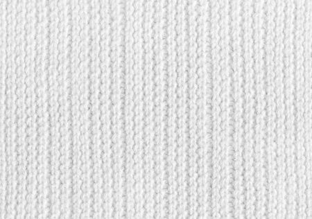 White knitting woolen fabric texture background