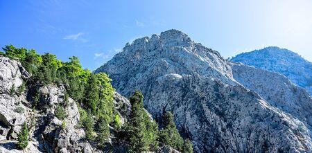 Mountain landscape in Turkey 版權商用圖片