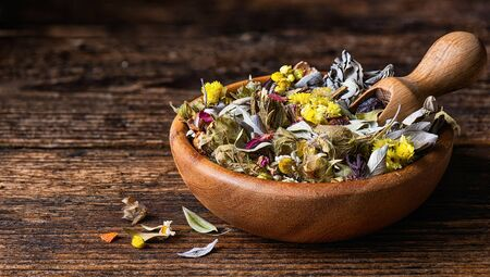 Dry Herbal Tea mix from various medicinal plants