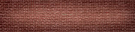 Panoramic background of old red brick wall texture Reklamní fotografie