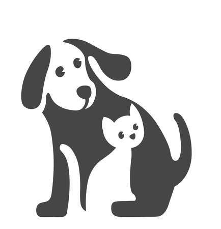 Vector image of Pet logo on white