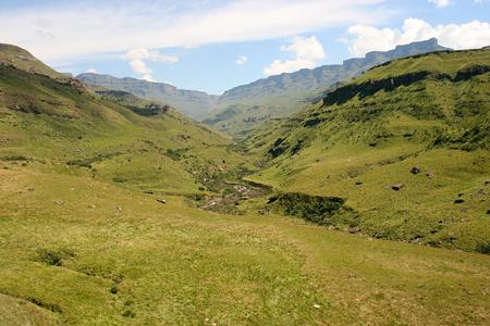 Sani Pass, South Africa Stock Photo