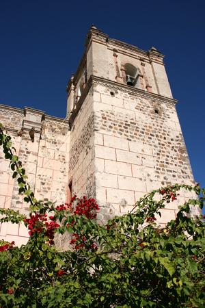 Old Franciscan church (San Ignacio Kadakaaman) in San Ignacio, Baja California Sur, Mexico