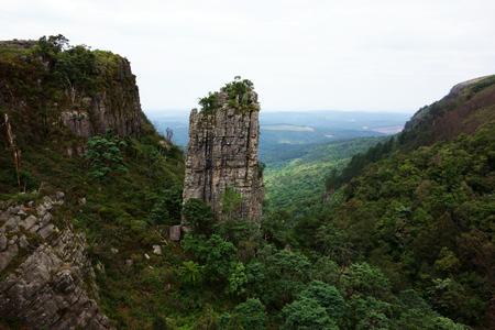 The Pinnacle Rock, South Africa Stock Photo