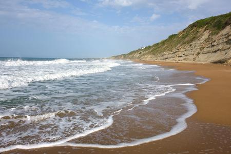 Beach close to Agios Georgios, Corfu Trail, Greece