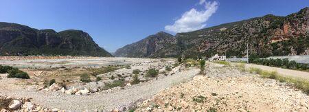 Demre Valley, Likya Yolu Hiking Trail, Turkey Stock Photo