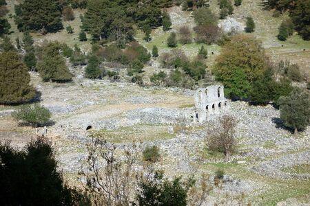 Alakilise (Church of Angel Gabriel), Likya Yolu Hiking Trail, Turkey