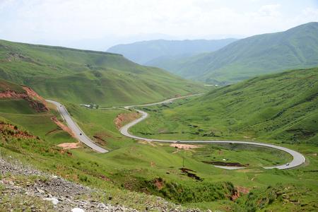 Chyyyrchyk pass on the M41 Pamir Highway, Kyrgyzstan