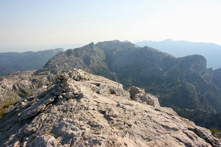 Puig de l� � �,�� � Ofre on the Ruta de Pedra en Seco hike (GR221), Majorca, Spain Stock Photo