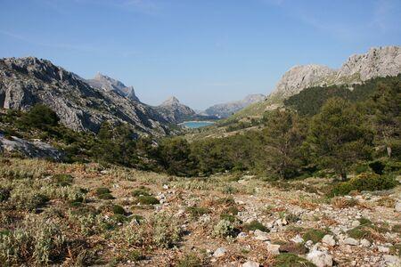 Embassament de Cuber on the Ruta de Pedra en Seco hike (GR221), Mallorca, Spain