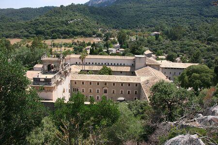 Santuari de Lluc, Monastery in Mallorca, Balearic Islands, Spain