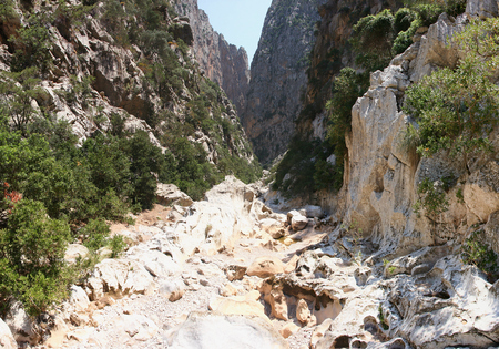 Hiking the Torrent de Pareis, Mallorca, Spain