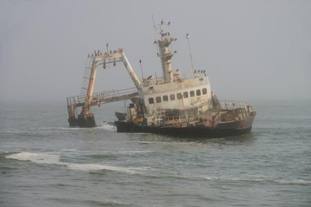 Zeila Ship Wreck, Namib, Namibia
