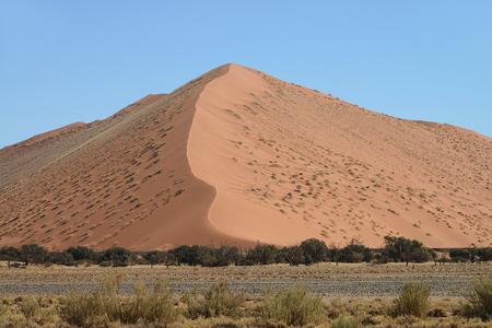 Sossusvlei, Namib, Namibia Stock Photo
